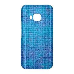 Textured Blue & Purple Abstract HTC One M9 Hardshell Case