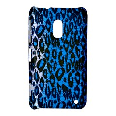 Florescent Blue Cheetah  Nokia Lumia 620 Hardshell Case