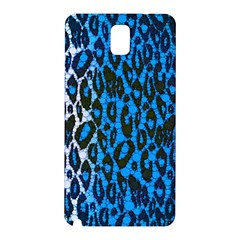 Florescent Blue Cheetah  Samsung Galaxy Note 3 N9005 Hardshell Back Case