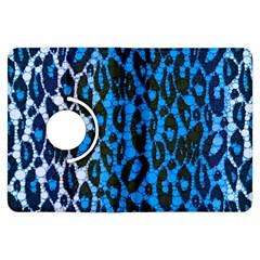 Florescent Blue Cheetah  Kindle Fire HDX Flip 360 Case