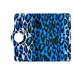 Florescent Blue Cheetah  Kindle Fire HDX 8.9  Flip 360 Case