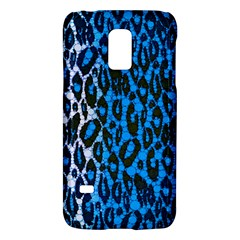 Florescent Blue Cheetah  Samsung Galaxy S5 Mini Hardshell Case