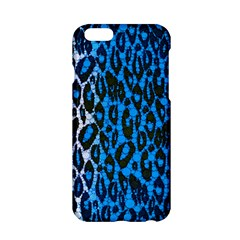 Florescent Blue Cheetah  Apple iPhone 6 Hardshell Case
