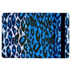 Florescent Blue Cheetah  Apple iPad Air 2 Flip Case
