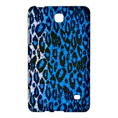 Florescent Blue Cheetah  Samsung Galaxy Tab 4 (7 ) Hardshell Case