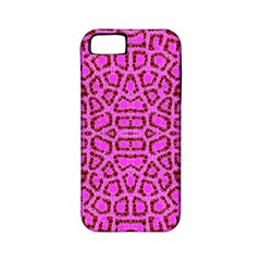 Florescent Pink Animal Print  Apple Iphone 5 Classic Hardshell Case (pc+silicone)