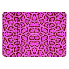 Florescent Pink Animal Print  Samsung Galaxy Tab 8 9  P7300 Flip Case
