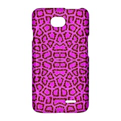 Florescent Pink Animal Print  LG Optimus L70 Hardshell Case