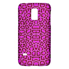 Florescent Pink Animal Print  Samsung Galaxy S5 Mini Hardshell Case