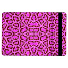 Florescent Pink Animal Print  Apple iPad Air 2 Flip Case