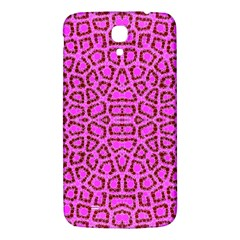 Florescent Pink Animal Print  Samsung Galaxy Mega I9200 Hardshell Back Case