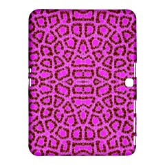 Florescent Pink Animal Print  Samsung Galaxy Tab 4 (10.1 ) Hardshell Case