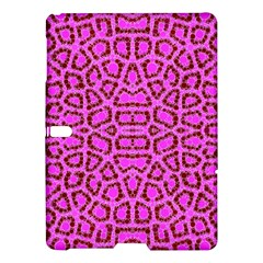 Florescent Pink Animal Print  Samsung Galaxy Tab S (10 5 ) Hardshell Case