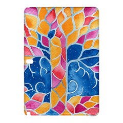 Yellow Blue Pink Abstract  Samsung Galaxy Tab Pro 10.1 Hardshell Case