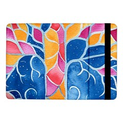 Yellow Blue Pink Abstract  Samsung Galaxy Tab Pro 10.1  Flip Case