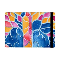 Yellow Blue Pink Abstract  Apple iPad Mini 2 Flip Case