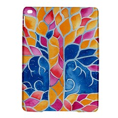 Yellow Blue Pink Abstract  Apple Ipad Air 2 Hardshell Case