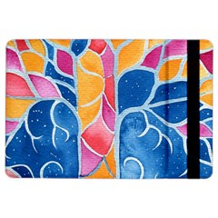 Yellow Blue Pink Abstract  Apple iPad Air 2 Flip Case