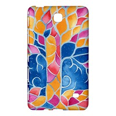 Yellow Blue Pink Abstract  Samsung Galaxy Tab 4 (7 ) Hardshell Case