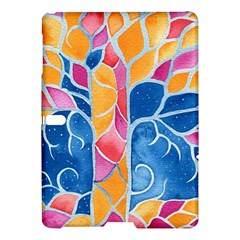 Yellow Blue Pink Abstract  Samsung Galaxy Tab S (10 5 ) Hardshell Case