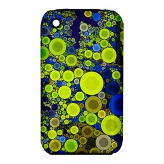 Polka Dot Retro Pattern Apple Iphone 3g/3gs Hardshell Case (pc+silicone)