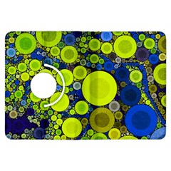 Polka Dot Retro Pattern Kindle Fire Hdx Flip 360 Case
