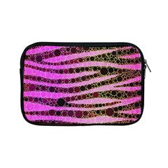 Hot Pink Black Tiger Pattern  Apple Ipad Mini Zippered Sleeve