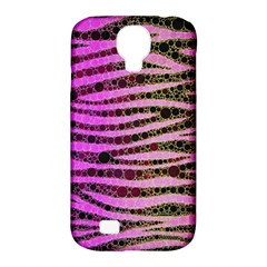 Hot Pink Black Tiger Pattern  Samsung Galaxy S4 Classic Hardshell Case (pc+silicone)