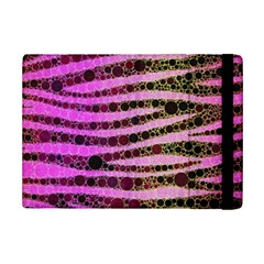 Hot Pink Black Tiger Pattern  Apple iPad Mini 2 Flip Case
