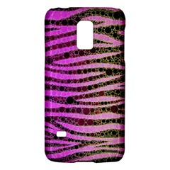 Hot Pink Black Tiger Pattern  Samsung Galaxy S5 Mini Hardshell Case