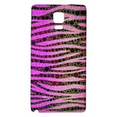 Hot Pink Black Tiger Pattern  Samsung Note 4 Hardshell Back Case