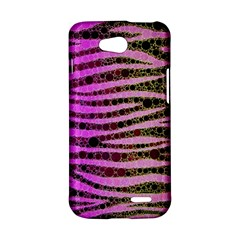 Hot Pink Black Tiger Pattern  LG L90 D410 Hardshell Case