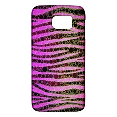 Hot Pink Black Tiger Pattern  Samsung Galaxy S6 Hardshell Case