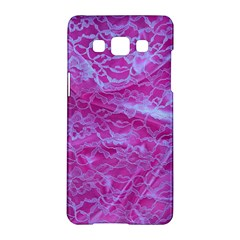 Pink Lace  Samsung Galaxy A5 Hardshell Case