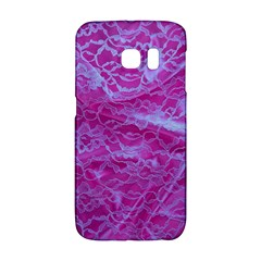 Pink Lace  Samsung Galaxy S6 Edge Hardshell Case