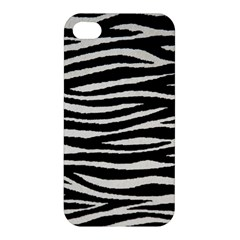 Black White Tiger  Apple Iphone 4/4s Premium Hardshell Case