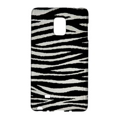 Black White Tiger  Samsung Galaxy Note Edge Hardshell Case