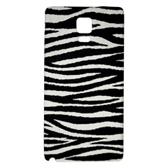 Black White Tiger  Samsung Note 4 Hardshell Back Case