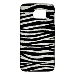Black White Tiger  Samsung Galaxy S6 Hardshell Case