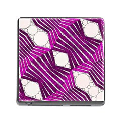 Crazy Beautiful Abstract  Memory Card Reader With Storage (square)