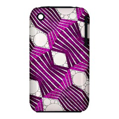 Crazy Beautiful Abstract  Apple iPhone 3G/3GS Hardshell Case (PC+Silicone)