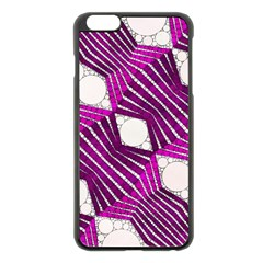 Crazy Beautiful Abstract  Apple Iphone 6 Plus Black Enamel Case