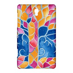 Yellow Blue Pink Abstract  Samsung Galaxy Tab S (8.4 ) Hardshell Case