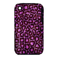 Cheetah Bling Abstract Pattern  Apple iPhone 3G/3GS Hardshell Case (PC+Silicone)