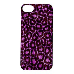 Cheetah Bling Abstract Pattern  Apple Iphone 5s Hardshell Case