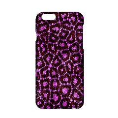 Cheetah Bling Abstract Pattern  Apple Iphone 6 Hardshell Case