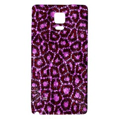 Cheetah Bling Abstract Pattern  Samsung Note 4 Hardshell Back Case