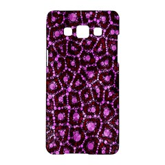 Cheetah Bling Abstract Pattern  Samsung Galaxy A5 Hardshell Case