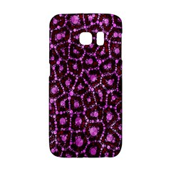 Cheetah Bling Abstract Pattern  Samsung Galaxy S6 Edge Hardshell Case