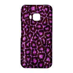 Cheetah Bling Abstract Pattern  HTC One M9 Hardshell Case